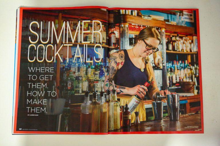 Photos published in HV Magazine: Back Bar