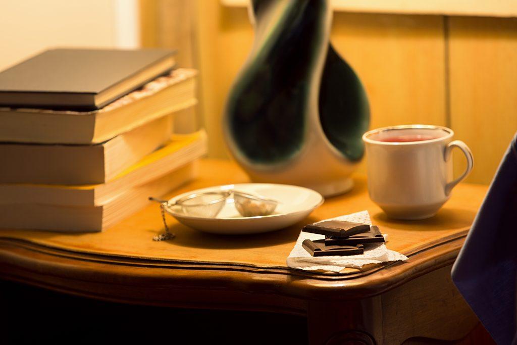 Chocolate and tea